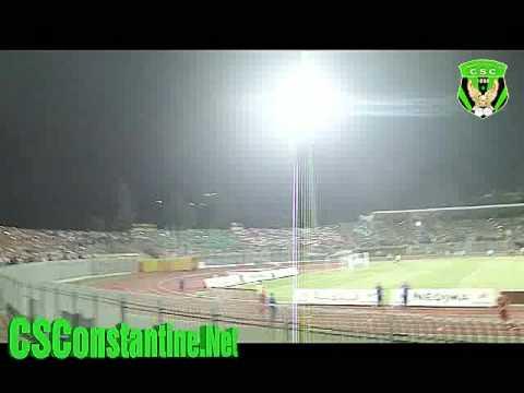 CS Constantine vs OGC Nice : Tifos des Ultras et l'ambiance des supporters