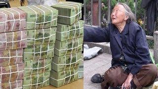 Bà cụ ra ngân hàng xin rút 500 ngàn cô nhân viên không thèm tiếp rồi 1 lúc sau hối hận