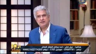العاشرة مساء| احد سكان عمارة الأسكندرية المائلة يروى تفاصيل ولحظات ما ...