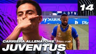 🚨 RIPARTE LA CHAMPIONS LEAGUE! NUOVA FORMAZIONE! FIFA 21 CARRIERA ALLENATORE JUVENTUS! EP.14