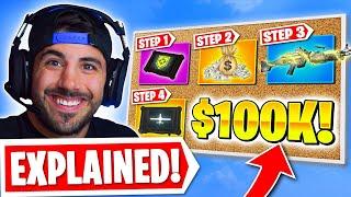 How I Won $100,000 Playing Warzone! 😮 (EXPLAINED)