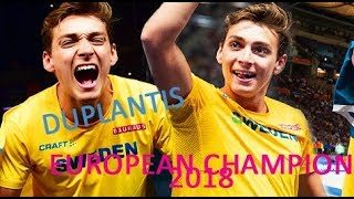 Armand Duplantis | European Champion