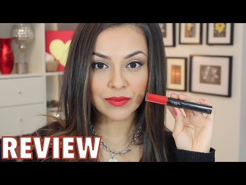 L'oreal Infallible Lipstick First Impression Review - TrinaDuhra