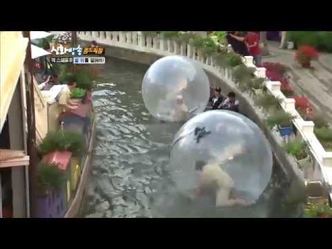 [JTBC] 신화방송 (神話, SHINHWA TV) 27회 명장면 - 워터볼과 함께하는 몸개그!