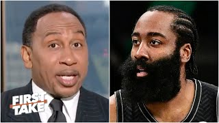 Stephen A. reacts to Nets vs. Bucks Game 1 and James Harden's injury   First Take