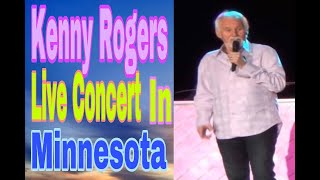 KENNY ROGERS LIVE CONCERT IN MINNESOTA, USA.. FULL EPISODE...