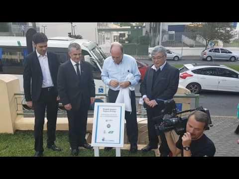 Thumb vídeo - Inauguração do Minigolfe do Hospital Pequeno Príncipe