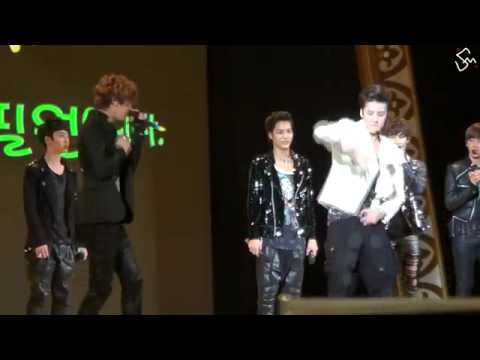 120526 EXO Chanyeol Beatbox - Se Hun Dance
