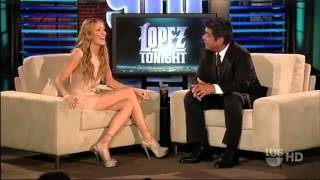 Katie Cassidy on Lopez Tonight (2010)