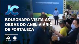 Bolsonaro visita as obras do Anel Viário de Fortaleza