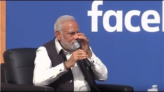 Modi Gets Emotional | Cries When Speaking About His Mother To Mark Zuckerberg