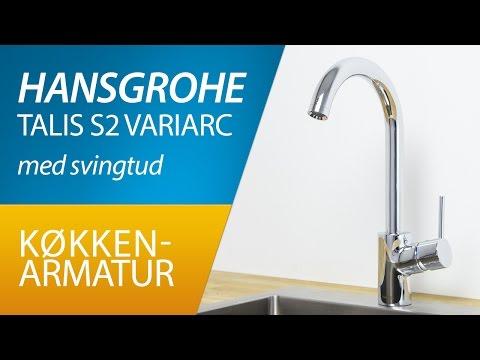 PRODUKT | Hansgrohe Talis S2 Variarc køkkenarmatur