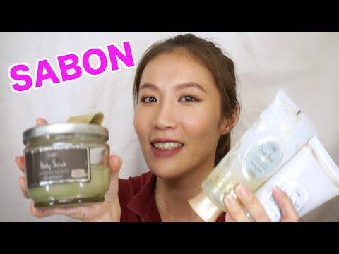 Celeste Wu 大沛 | SABON 磨砂膏 & 身體乳分享