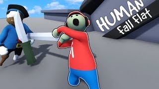 We played with Toy Swords and Had Fun with Soccer in Human Fall Flat - YouTube