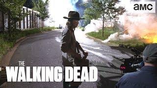 (SPOILERS)Mid-Season Finale Behind the Scenes  | The Walking Dead