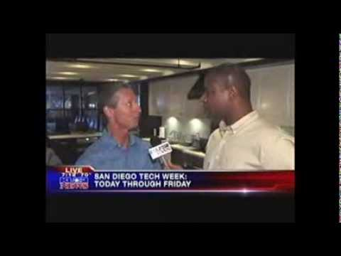 San Diego Tech Week and Hughes Marino on KUSI   Part 1