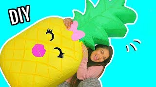 DIY WORLD'S LARGEST SQUISHY! How To Make A Giant Squishy!
