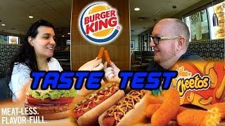 Burger King Mac N Cheetos Taste Test OVER LOAD!!