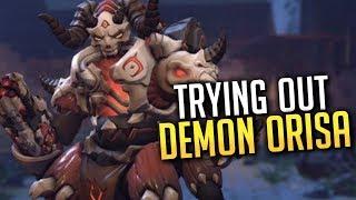 New Demon Orisa Event Skin! - Overwatch
