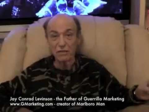 Jay Conrad Levinson #13 GuerrillaMarketer.com