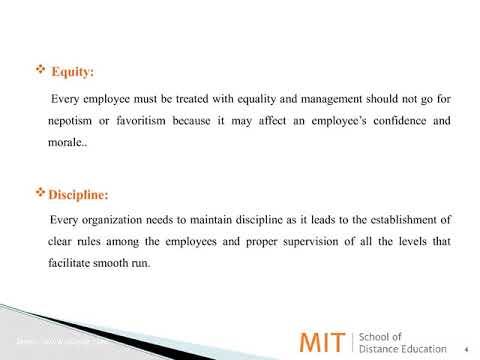 Principles Of Management MITSDE