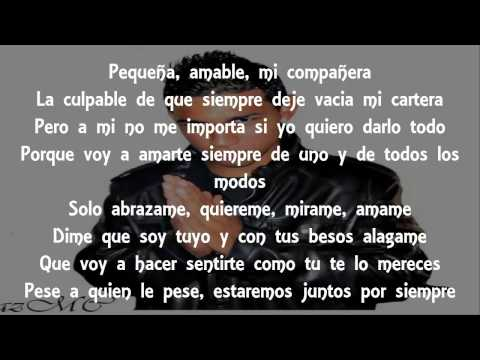 Alee Alejandro Ft. Audaz Mc - Te Amo (Letra)