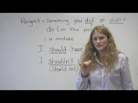 English Speaking - Mistakes & Regrets (