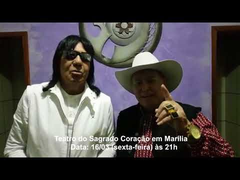 Milionário e Marciano se apresentam em Marília, dia 16