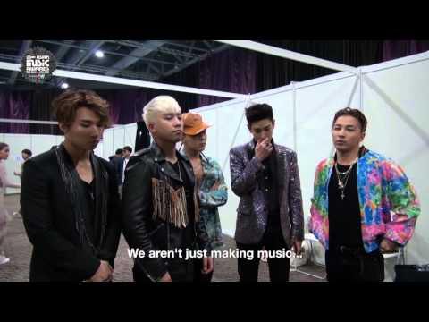 MAMA 2015 - Let's Go Backstage with Big Bang!