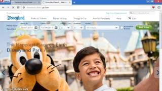 HOW TO BUY DISNEYLAND TICKETS ONLINE