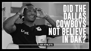 Did the Dallas Cowboys Not Believe in Dak? | I AM ATHLETE with Brandon Marshall, Fred Taylor & More