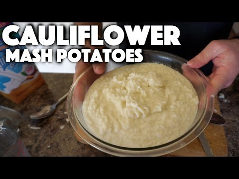 Cauliflower Mash Potato Recipe