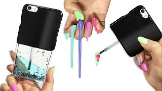 DIY Liquid Phone Case!