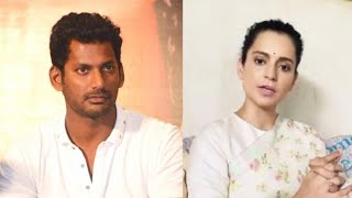 Actor Vishal salutes Kangana's guts and compares her to Bh..