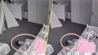 Đặt camera trong phòng con, ông bố phát hiện cảnh tượng như 'phim kinh dị'
