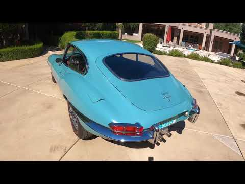 video 1968 Jaguar XKE Series II Coupe