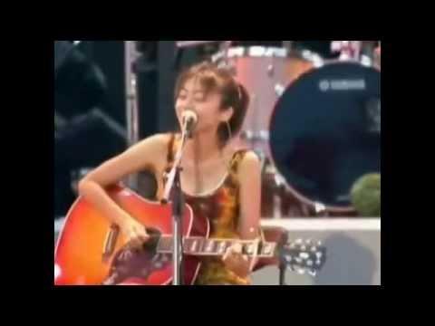 陳綺貞 - 微涼的你 。 2003 海洋音樂祭 live