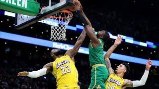 Jaylen Brown Dunks on LeBron! Anthony Davis Returns! 2019-20 NBA Season