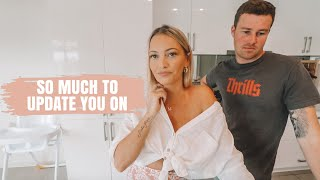RENOVATION ON HOLD? SO MUCH TO UPDATE YOU ON!! *AUSSIE MUM VLOGGER*