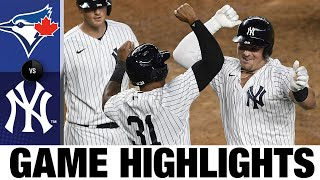 Yankees set multiple HR records with six-homer game | Blue Jays-Yankees Game Highlights 9/17/20
