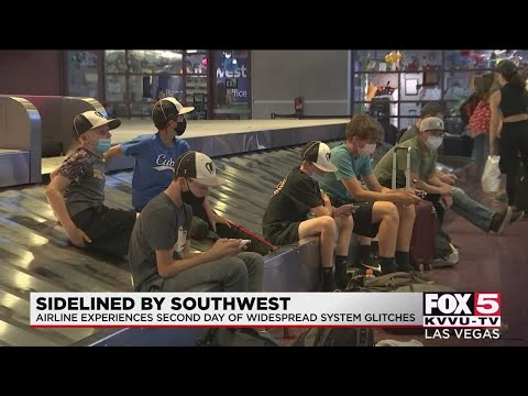 Travelers stranded at airports after Southwest system issue