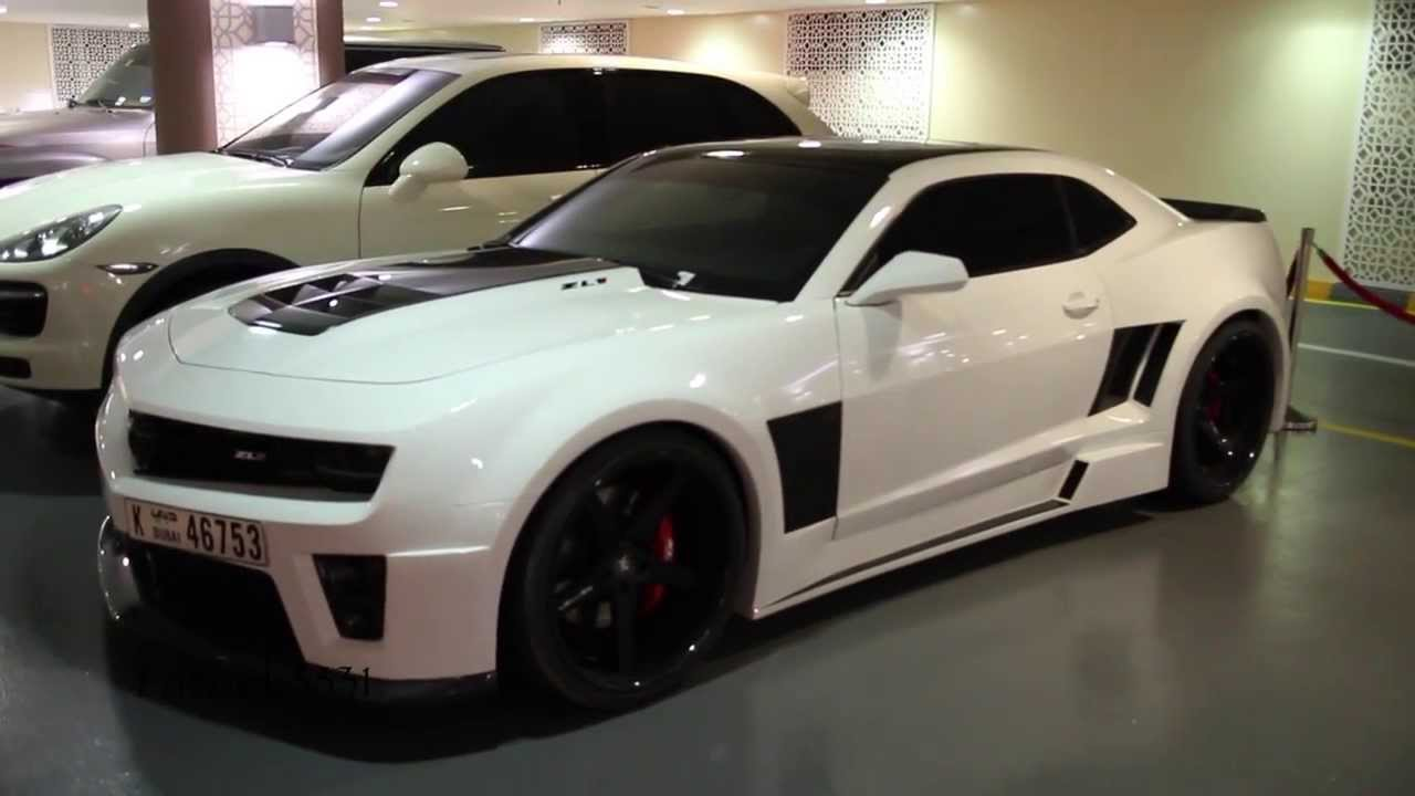 Chevrolet Camaro Zl1 Wide Body Kit Tuning Uae Exclusive