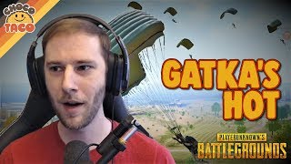 chocoTaco's Hardest Gatka Drop - PUBG Gameplay on Erangel Remastered