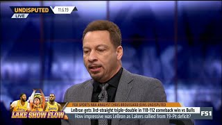UNDISPUTED | Chris Broussard IMPRESSED by