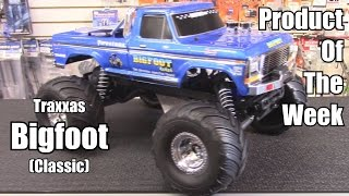 Traxxas Bigfoot (Classic) 2WD Monster Truck - Product of The Week