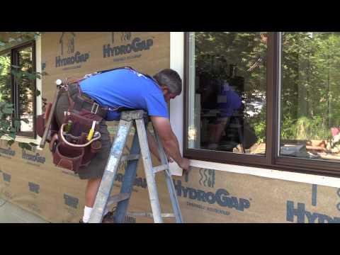 Waterproof Windows with HydroGap