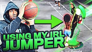 NBA 2K put my IN REAL LIFE jumpshot into the game and its the BEST JUMPSHOT EVER on NBA 2K20!