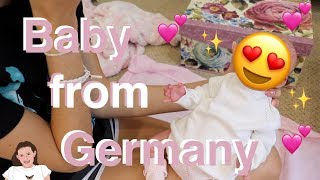 Prototype Baby Box Opening from Germany!  | Kelli Maple