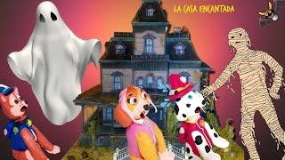Patrulla Canina  🎉FIESTA en la CASA ENCANTADA de Agapito 🎉 Paw Patrol en Español