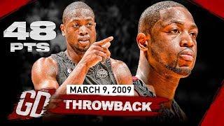 Dwyane Wade LEGENDARY GAME! EPIC Full Highlights vs Chicago Bulls 2009.03.09 - 48 Pts, GAME-WINNER!